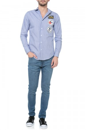 CAMISA WALRUS PATCHES