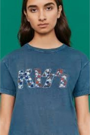REMERA KISS ROCK